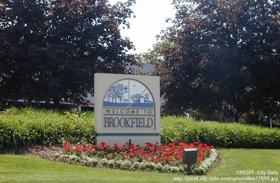 Brookfield Tree Care Services-Welcome Sign