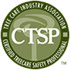 Certified Tree Care Safety Professional (CTSP) logo