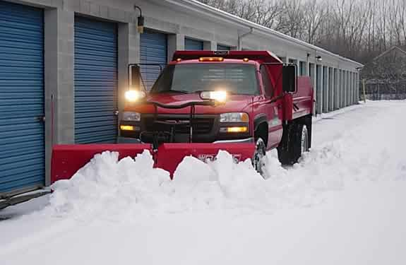 Commercial Snow Plowing Services by M&M Tree Care in Milwaukee, WI