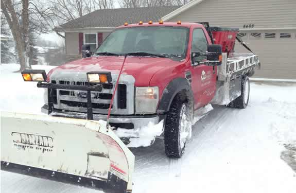 Residential Snow Plowing Services by M&M Tree Care in Milwaukee, WI