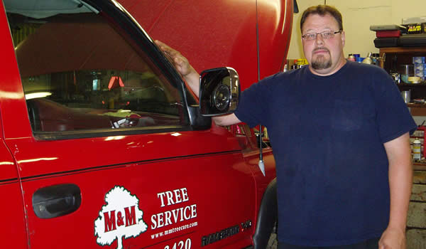 Frank Brackett  - M&M Tree Care