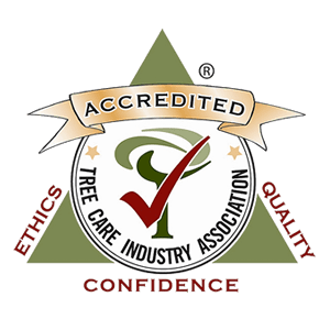Tree Care Industry Association (TCIA) Accredited logo